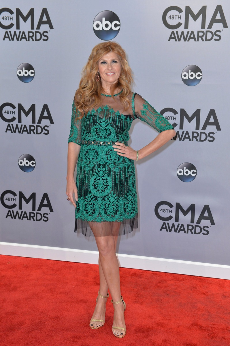 """THE 48TH ANNUAL CMA AWARDS - """"The 48th Annual CMA Awards"""" airs live from the Bridgestone Arena in Nashville on WEDNESDAY, NOVEMBER 5 (8:00-11:00 PM/ET) on the ABC Television Network. (ABC/Image Group LA) CONNIE BRITTON"""