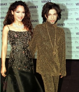 Mayte Garcia & Prince De Beers & Versace Fashion show  'Diamonds are Forever' 9/6/99 Pic Credit: WENN/Michael Mcgourty When: 17 Dec 2003