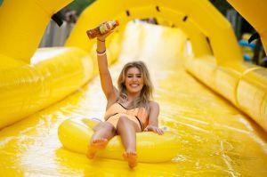 Water-slide-in-London